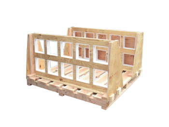 customize the base of a wooden crate