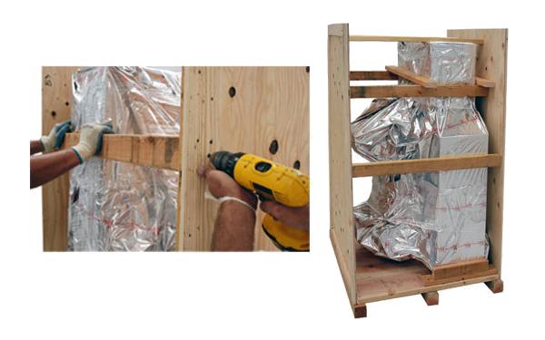 reusable crates block and brace