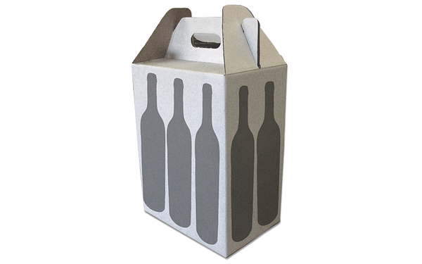 Fold top tall custom cardboard box