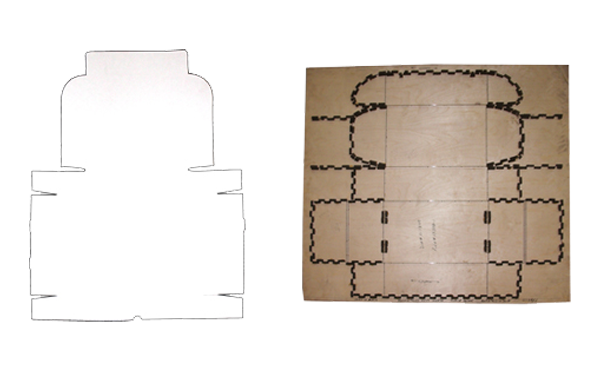 Tuck top custom corrugated box