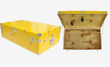 reusable shipping crates sensitive instrument