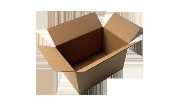 Open corrugated box