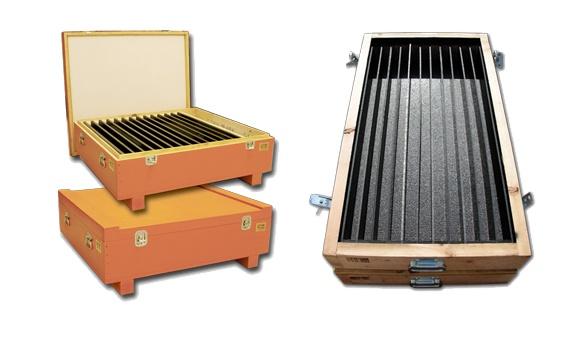reusable crates foam-liners