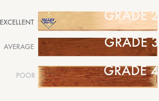 wood grades