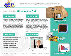 overseas crate observation port case study