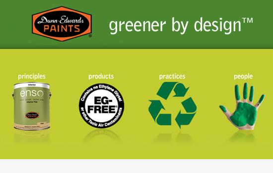 Environmentally friendly paints
