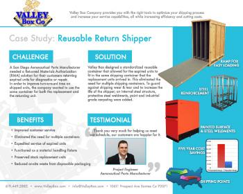 reusable shipping crates case study