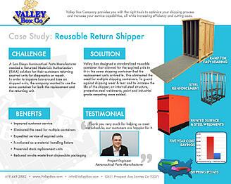 custom shipping crates case study