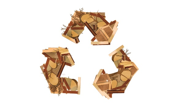 wood scrap recycling