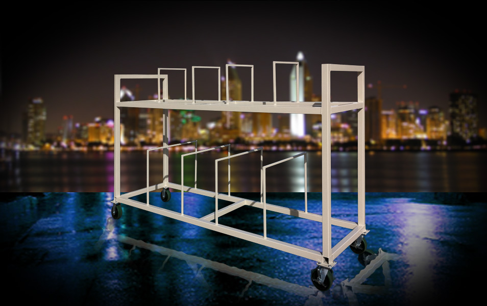 custom industrial carts