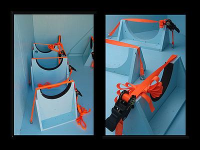 reusable crates tiedown