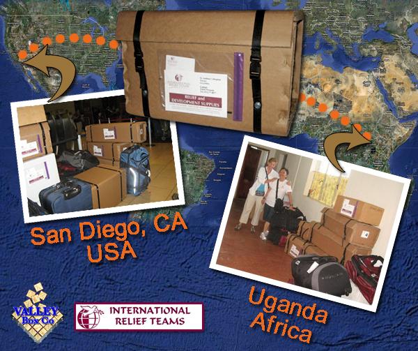 overseas packing