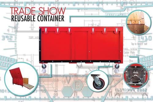 trade show shipping crates
