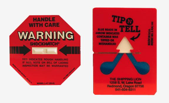 aerospace packaging external damage-indicators