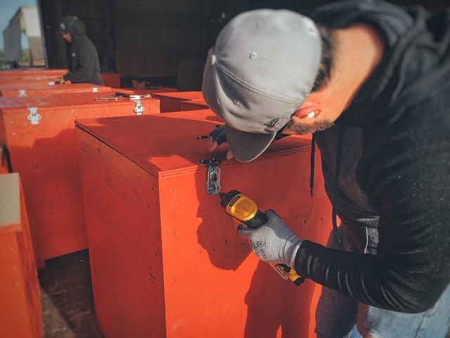 reusable shipping crates