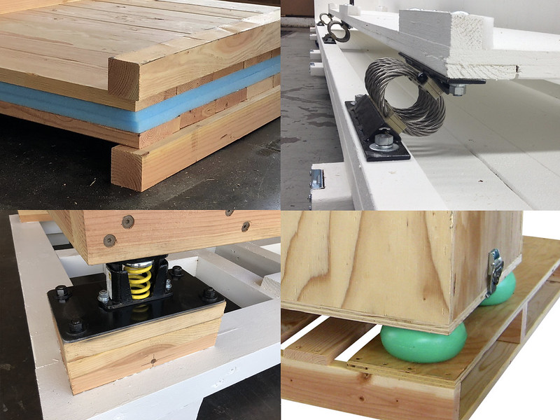 shipping crates vibration solution