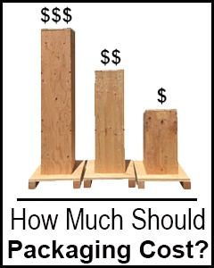 wooden containers cost