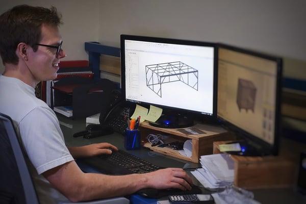 crate manufacturer uses 3D design software