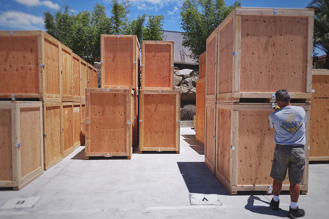 crate manufacturer finishing-touches