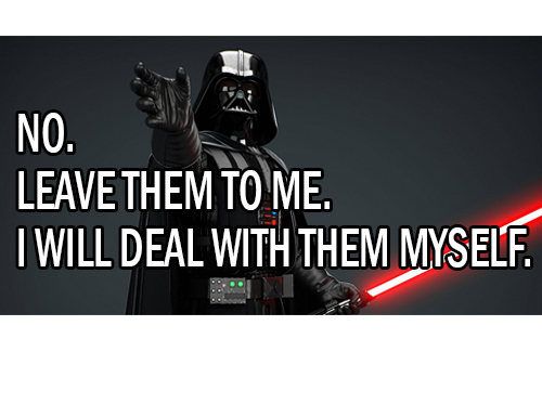 Darth-deal-with-them-myself wooden containers