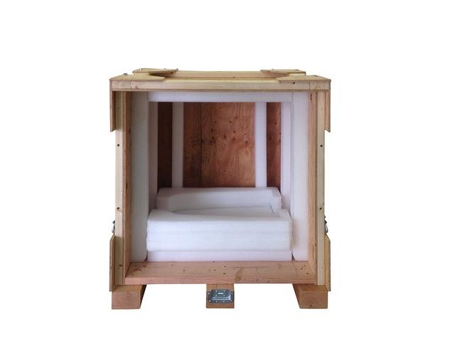 cushioning wood boxes