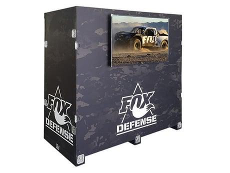 trade show custom wood crate