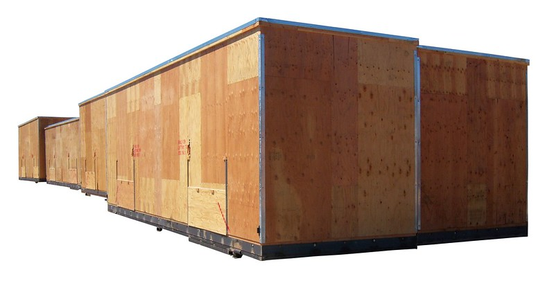 heavy duty wooden crates large