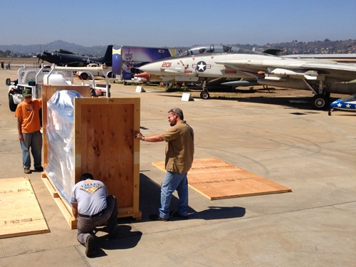 San Diego crating and packing
