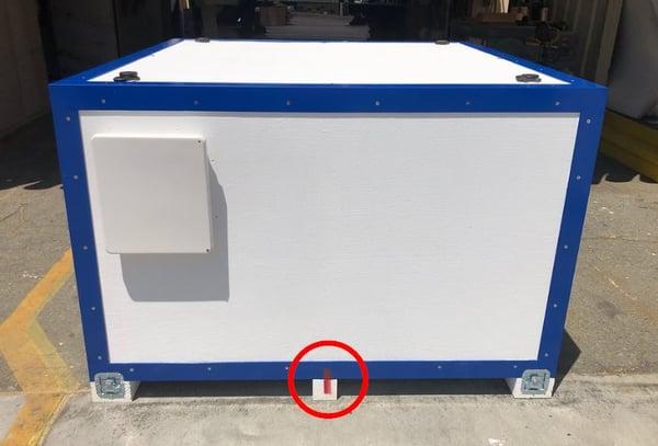 aerospace packaging clocking mark