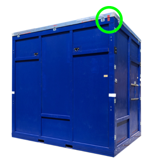 IB crate lid clocking marks