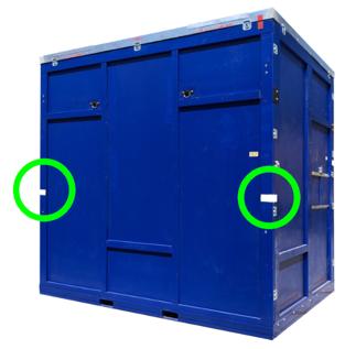 IB crate side clocking marks