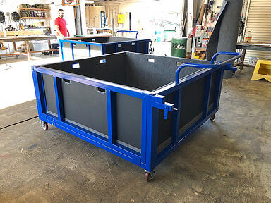 aerospace packaging cart