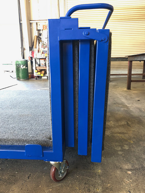 aerospace packaging nose cone handling cart
