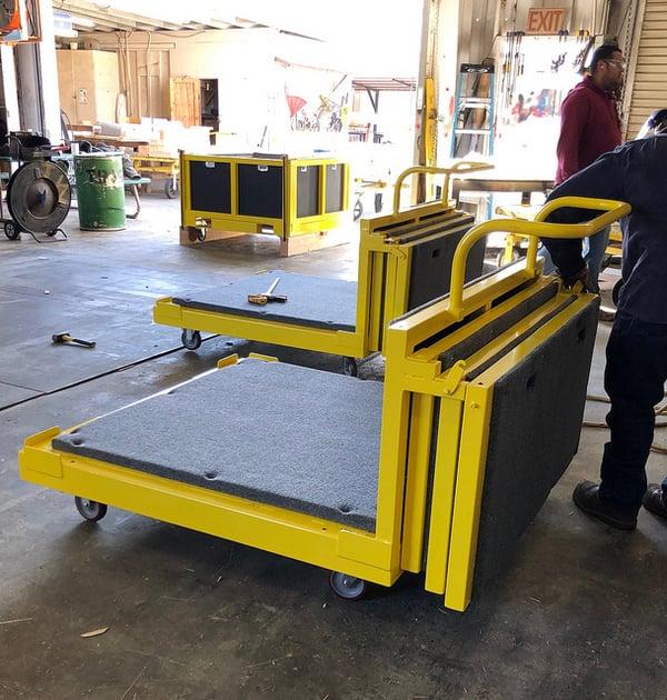 aerospace-packaging-stacking-cart