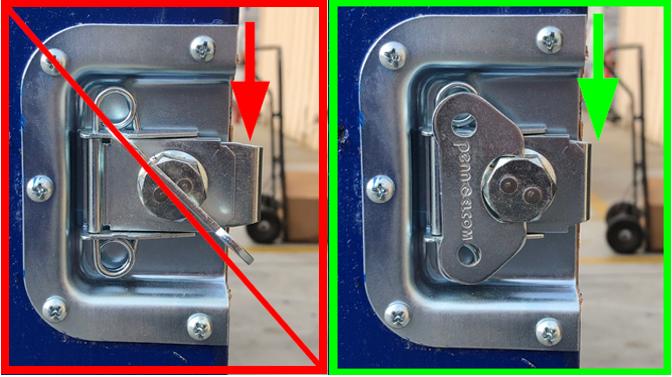 close link lock side