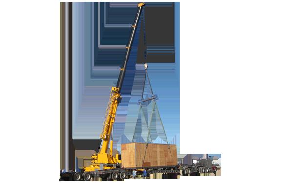 san diego crating crane lift