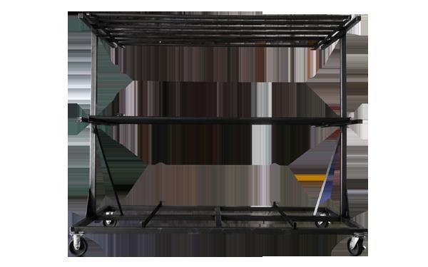 custom assembly rack industrial carts