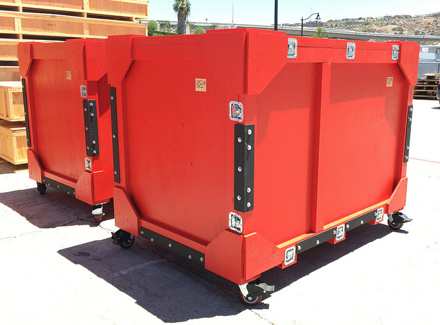 san diego crating solution trade show crates
