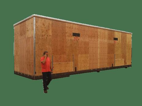 custom wood crates heavy duty