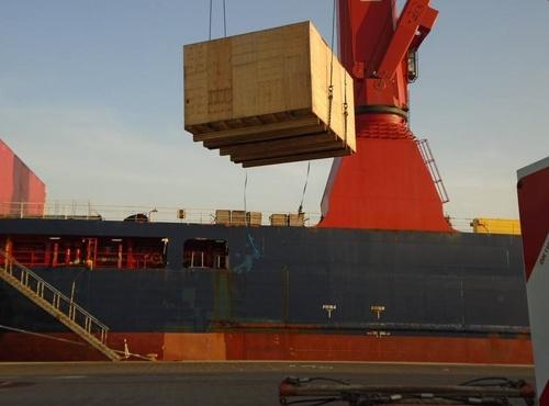 wooden export crate