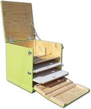 reusable crates drawers
