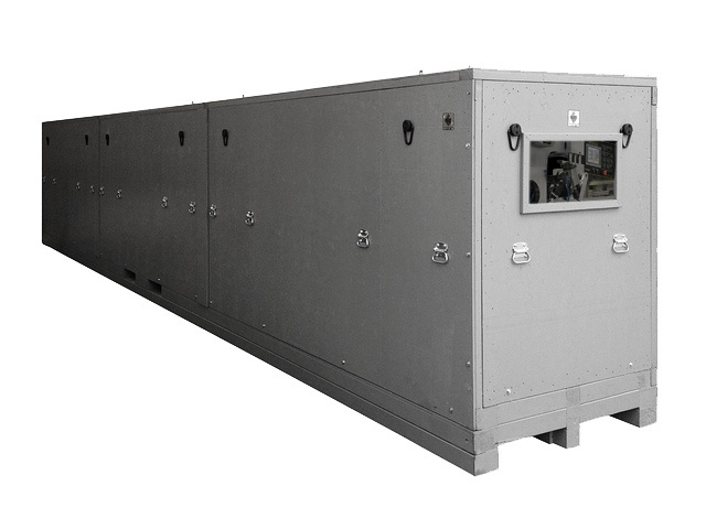 reusable shipping crate with inspection window