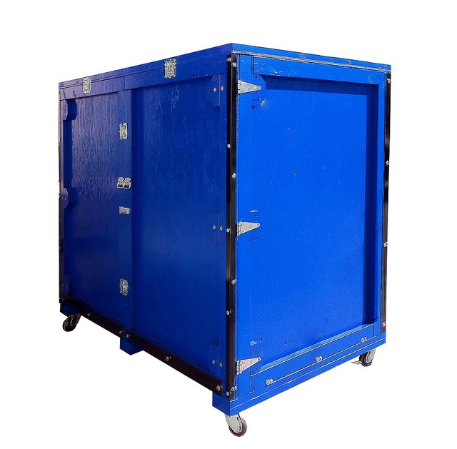 trade show shipping crates