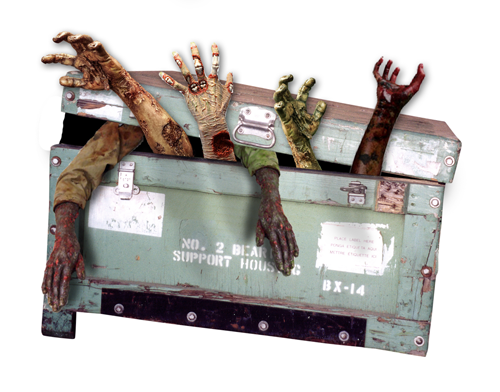 wooden shipping crates zombie-box