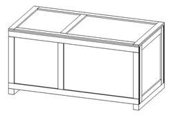 wooden crates box