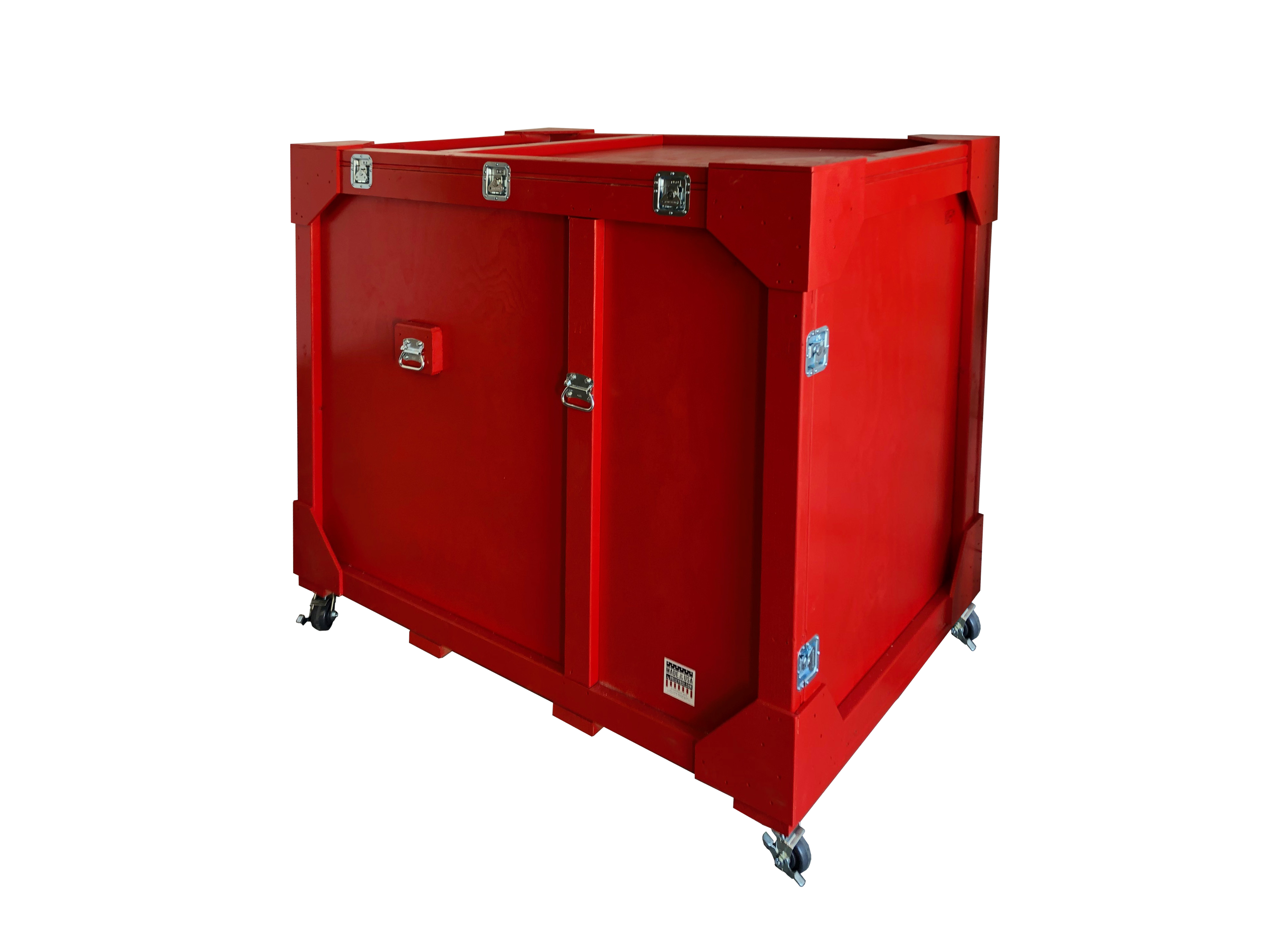 painted-reusable shipping crate
