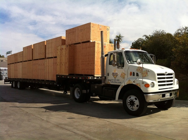 wood crate freight forwarding
