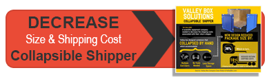Infographic Collapsible shipper
