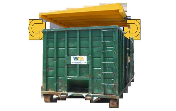40 Yard Dumpster SWPPP Solution