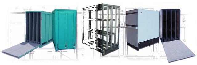 reusable shipping crate